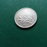 1 FRANC 1916 - Franta Argint UNC luciu, Europa