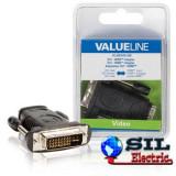 Adaptor DVI - HDMI, DVI tata - intare HDMI, negru