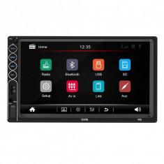 Mp5 player auto SWM N6 2din universal 2019 cu Rama Suporti Bluetooth Navigatie MirrorLink