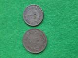 Monede 1 leu si 2 lei 1924