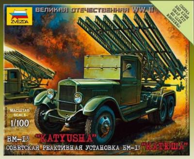 1:100 BM-13 Katiyusha (Art of Tactic) 1:100 foto