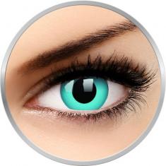 Crazy Sky Blue - lentile de contact colorate albastre anuale - 360 purtari (2 lentile/cutie)