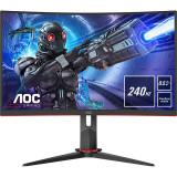 Monitor LED Gaming Curbat AOC C27G2ZE/BK 27 inch Full HD VA 0.5ms 240Hz Black