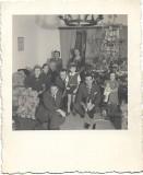 Copii cu jucarii Craciun Romania perioada monarhista