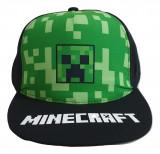 Sapca Minecraft Creeper LOGO , Ajustabila , ORIGINAL, Mojang, 8 ani +
