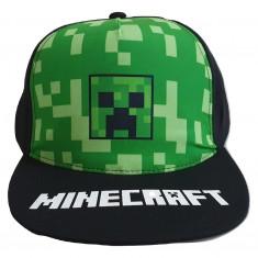 Sapca Minecraft Creeper LOGO , Ajustabila , ORIGINAL, Mojang,  10 ani +