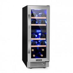 Klarstein VINOVILLA DUO 17, vinotecă cu două zone, frigider, 53 l, 17 FL., 3 led-uri de culoare, ușă din sticlă
