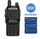 Cumpara ieftin Statie Baofeng UV-82 8W Dual Band Transceiver 8W 128 canale , Radio FM