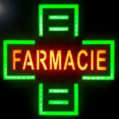 Reclama LED - Cruce Farmacie - de interior