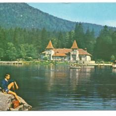 @carte postala-TUSNAD-Lacul Ciucas