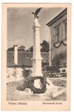 SV * Poiana Sibiului  *  MONUMENTUL EROILOR  *  interbelica  *  anii '20, Circulata, Necirculata, Fotografie, Printata, Sibiu