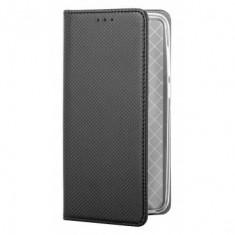 Husa Book Magnetic Soft pentru Samsung Galaxy J5 2017 Black , Textil