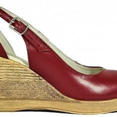 Pantofi dama decupati cu talpa ortopedica Ninna Art 176