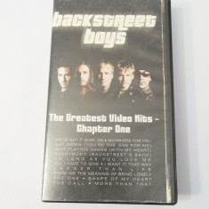 Caseta video VHS originala muzica - Backstreet Boys, Altele, universal pictures