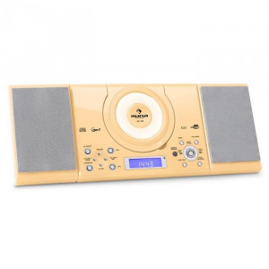 Auna MC - 120 Stereo CD MP3 USBFM cu montare perete