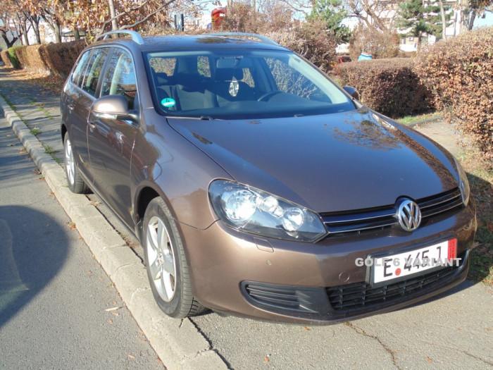 VW Golf 6 Variant, 6 VITEZE, an 2011, motor benzina 1.4 - TSI, 122 CP, 148.000Km