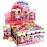 Jucarie Bule de sapun pentru fetite Balerine- Dulcop 4426-R, Roz