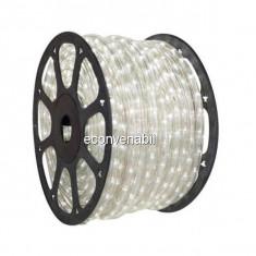 Furtun Luminos 100m 2300 LEDuri Alb Rece