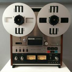 Magnetofon TEAC A-6300, 4 piste,auto-revers redare,stare foarte buna,revizuit.
