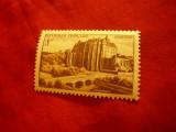 Timbru 8fr. Franta 1950 - Castel Chateaudun, Nestampilat