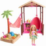 Set papusa Barbie Chelsea in vacanta, Mattel