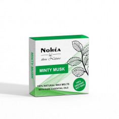 Pastile parfumate din ceara de soia, Minty Musk, Nohea, 40g