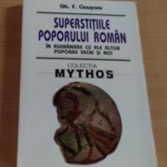 SUPERSTITIILE POPORULUI ROMAN - GH.F.CEAUSANU