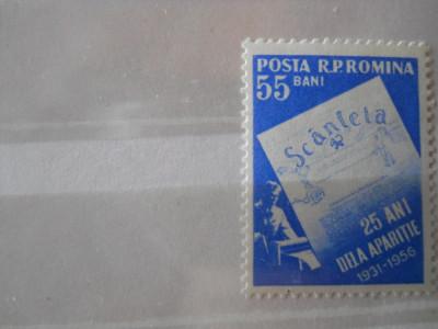 1956  LP 415  25 DE ANI DE LA APARITIA ZIARULUI SCANTEIA foto