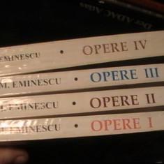 EMINESCU- OPERE- 4 VOL- EDITIE- AURELIA RUSU-CU DEDICATIE SI AUTOGRAF-VOL1,2,3=, Alta editura
