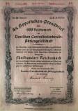 500 Reichsmark titlu de stat Germania 1941