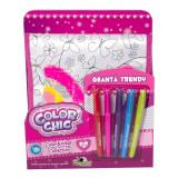 Geanta trendy cu paiete reversibile - Color Chic