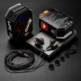 Casti Handsfree HTC Desire 825 Cu Microfon Stereo Negre