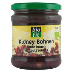 Fasole Rosie Red Kidney Bio 330gr Bio Fit Cod: BF551262