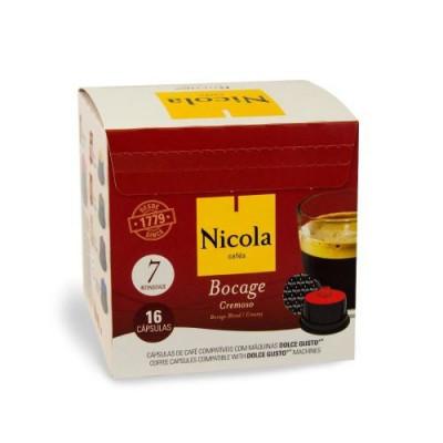 Capsule Nicola Cafes Bocage Cremoso compatibile Dolce Gusto 16 capsule foto