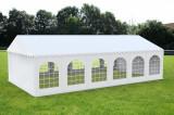 7X12 M CORT de EVENIMENTE PROFESSIONAL PVC 550g/m² ignifug alb inaltime 2,6m