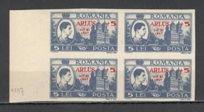 Romania.1947 Congresul ARLUS-supr.  bloc 4  HR.25 foto