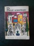 POVESTI NEMURITOARE volumul 2 (1966, editura Tineretului)
