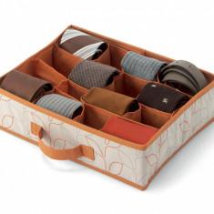 Set 2 organizatoare pentru sertar Bloom Orange Cream