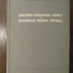 ANATOMO-FIZIOLOGIA CLINICA A SISTEMULUI NERVOS CENTRAL-A.KREINDLER, V.VOICULESCU