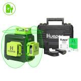 Nivela laser verde Huepar B03CG 3D baterie Li-ion, laser 30 m