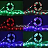 Banda LED Luminoasa 5m 270LED SMD 3528RGB cu Telecomanda JU