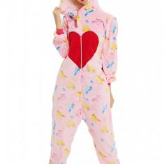 PJM172-535 Pijama intreaga kigurumi, model unicorn