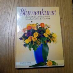 BLUMENKUNST - Zauberhafte Arangements*Grundtechniken der Floristik- 1995, 144p.