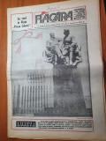 Flacara 1 martie 1990-articol barcanesti,buzau si abatajul din piata victoriei