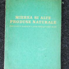 Mierea si alte produse naturale-D. C. Jarvis