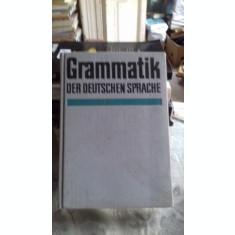 GRAMMATIK DER DEUSTCHEN SPRACHE - WALTER JUNG (GRAMATICA LIMBII GERMANE)