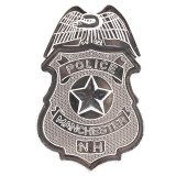 Insigna Politist, metalica, prindere cu ac de siguranta, accesoriu costum politie, ProCart