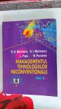 Managementul tehnologiilor neconvenționale, volumul II,  Marinescu, Purcarea