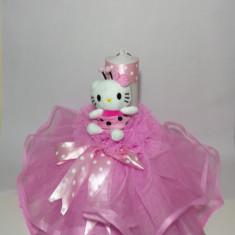 Lumanare pentru botez, 35X5 cm Disney - Hello Kitty