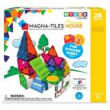 Magna-Tiles House set magnetic cu autocolante - 28 piese